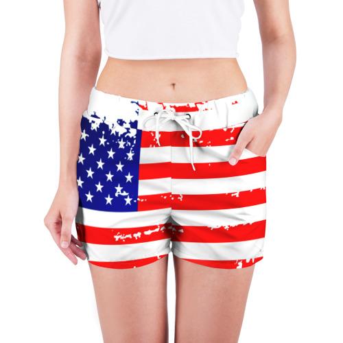 Женские шорты 3D  Фото 03, Америка