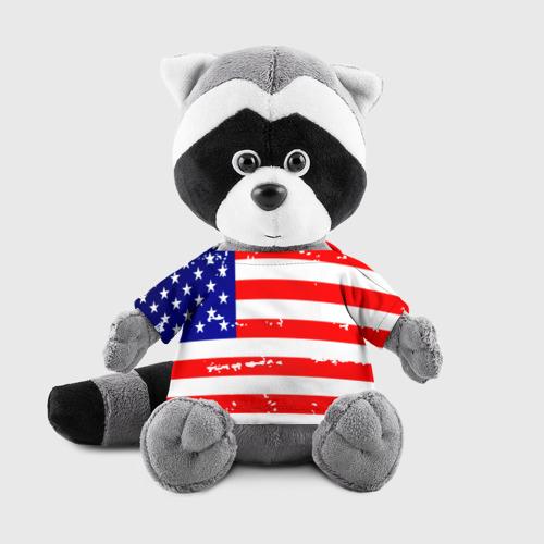Енотик в футболке 3D  Фото 01, Америка