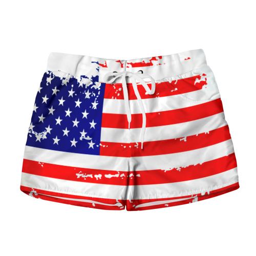 Женские шорты 3D  Фото 01, Америка