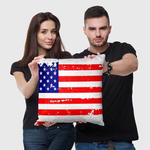 Подушка 3D  Фото 05, Америка