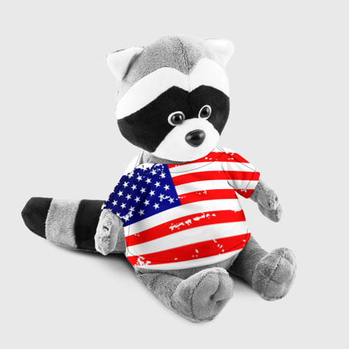 Енотик в футболке 3D  Фото 03, Америка