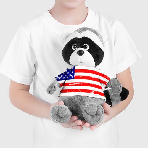 Енотик в футболке 3D  Фото 04, Америка