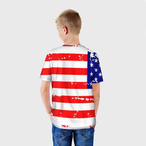Детская футболка 3D  Фото 02, Америка