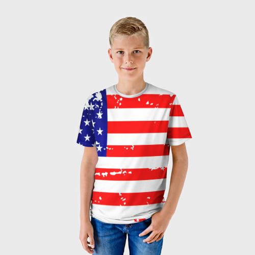 Детская футболка 3D  Фото 01, Америка