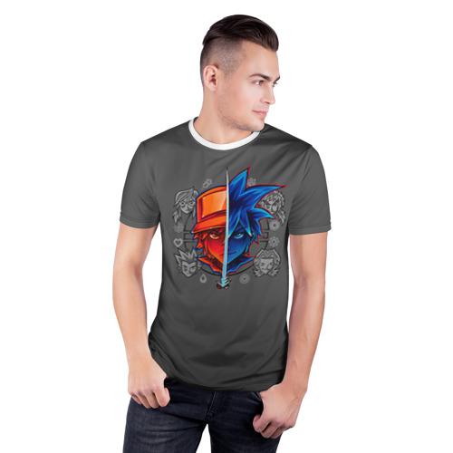 Мужская футболка 3D спортивная  Фото 03, Покемон 5