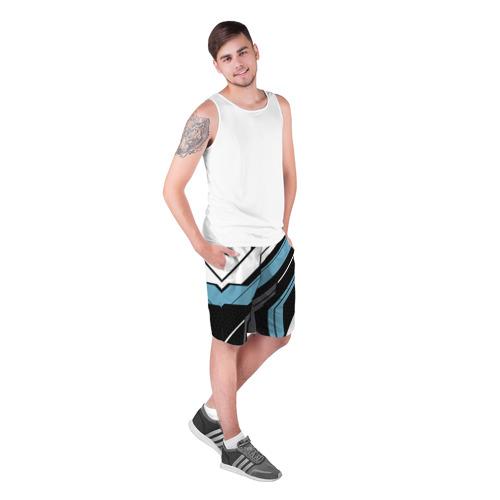 Мужские шорты 3D  Фото 03, cs:go - Vulcan 2.0 Style (Вулкан)