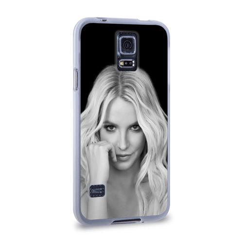 Чехол для Samsung Galaxy S5 силиконовый  Фото 02, Бритни Спирс
