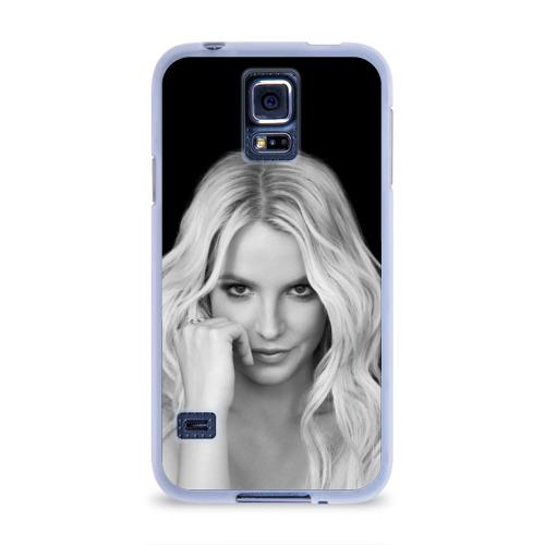 Чехол для Samsung Galaxy S5 силиконовый  Фото 01, Бритни Спирс
