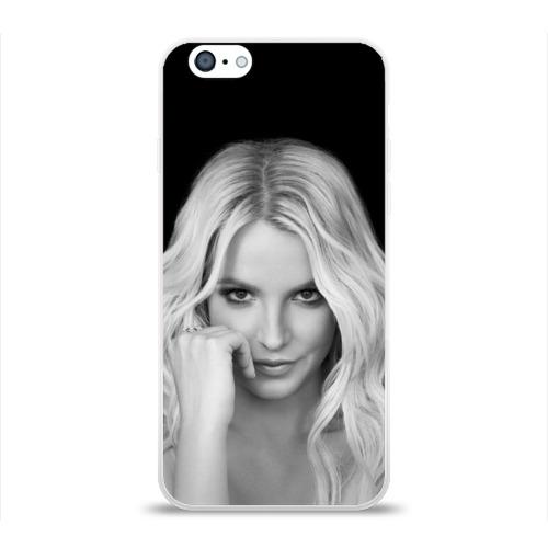 Чехол для Apple iPhone 6 силиконовый глянцевый Бритни Спирс Фото 01