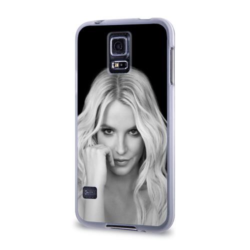Чехол для Samsung Galaxy S5 силиконовый  Фото 03, Бритни Спирс