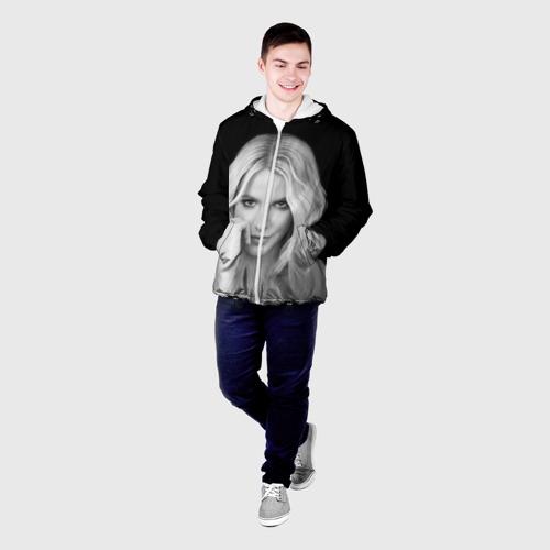Мужская куртка 3D Бритни Спирс Фото 01