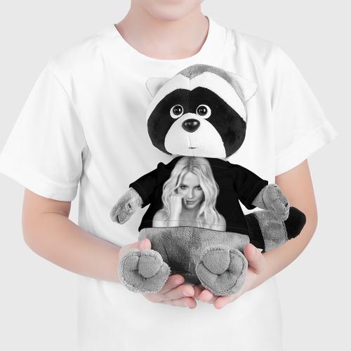 Енотик в футболке 3D Бритни Спирс Фото 01