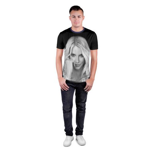 Мужская футболка 3D спортивная Бритни Спирс Фото 01