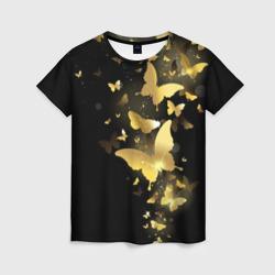 Золотые бабочки - интернет магазин Futbolkaa.ru