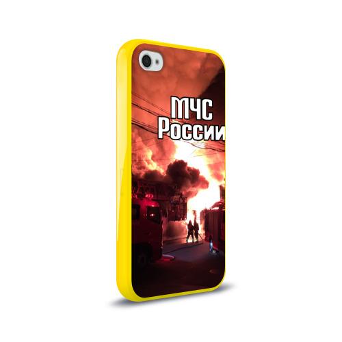 Чехол для Apple iPhone 4/4S силиконовый глянцевый  Фото 02, МЧС