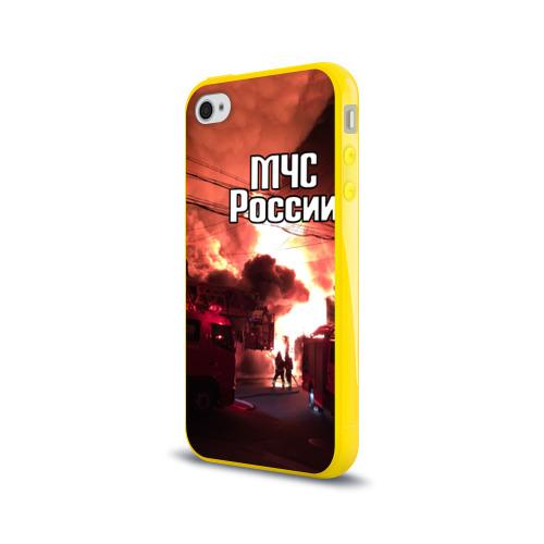 Чехол для Apple iPhone 4/4S силиконовый глянцевый  Фото 03, МЧС