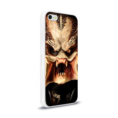Чехол для Apple iPhone 5/5S силиконовый глянцевый  Фото 02, Хищник