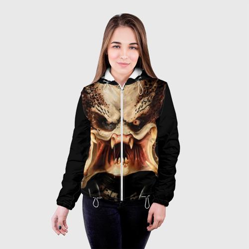 Женская куртка 3D  Фото 03, Хищник