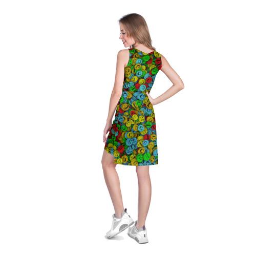 Платье-майка 3D  Фото 04, Злобные смайлы