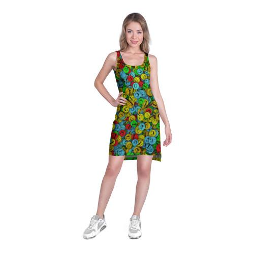 Платье-майка 3D  Фото 03, Злобные смайлы