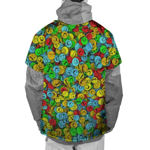Накидка на куртку 3D  Фото 02, Злобные смайлы