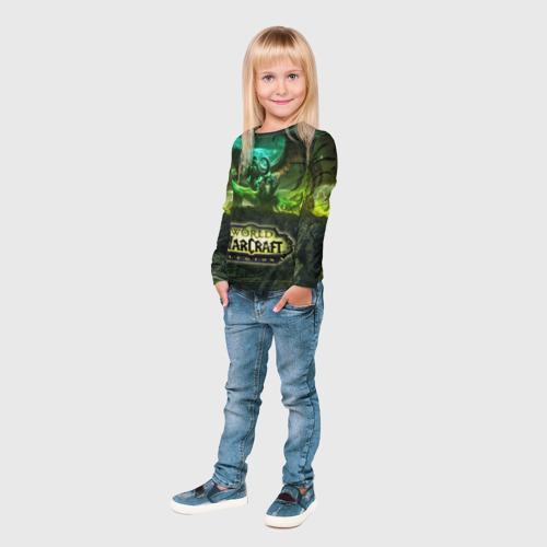 Детский лонгслив 3D  Фото 04, WOW Legion