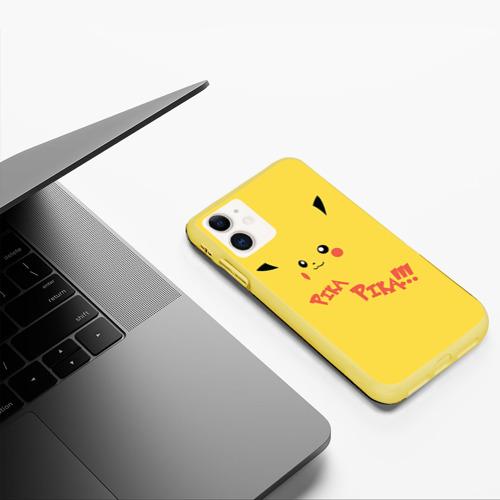 Чехол для iPhone 11 матовый Пика-пика! Фото 01
