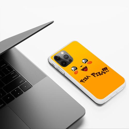 Чехол для iPhone 12 Pro Мордочка Пикачу Фото 01