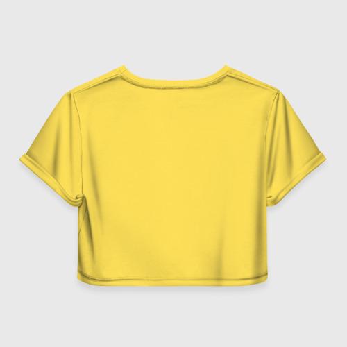 Женская футболка 3D укороченная  Фото 02, Покемон
