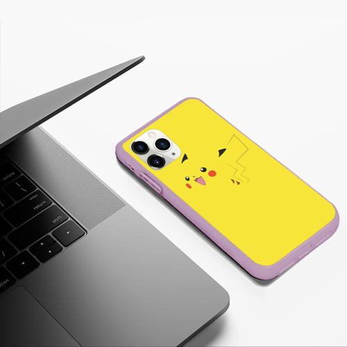 Чехол для iPhone 11 Pro Max матовый Пикачу Фото 01