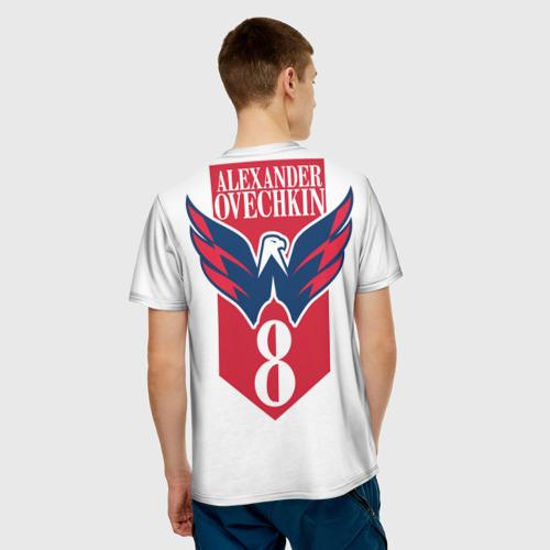 Мужская футболка 3D  Фото 02, CapitalsOvechkin