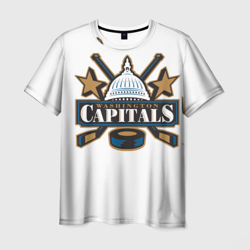 Мужская футболка 3D  Фото 03, CapitalsOvechkin
