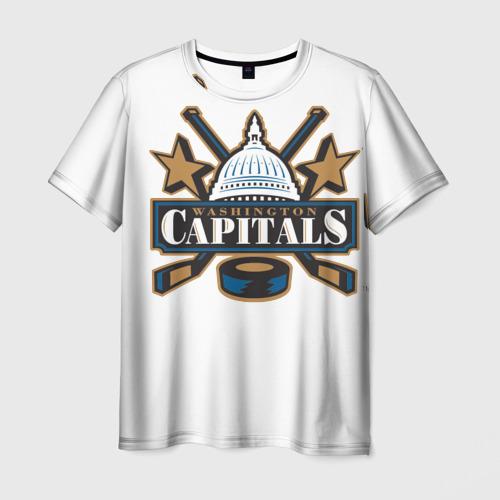Мужская футболка 3D  Фото 01, CapitalsOvechkin