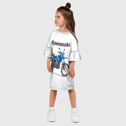 Детское платье 3D  Фото 03, Kawasaky Stels 250