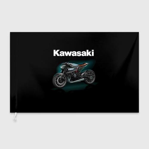 Флаг 3D  Фото 03, Kawasaky concept