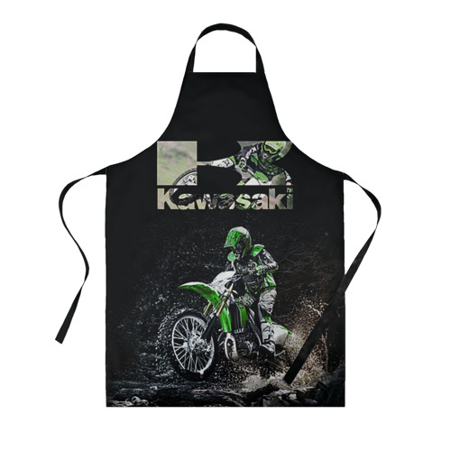 Фартук 3D Kawasaky cross