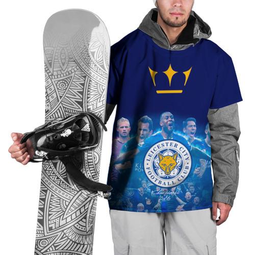 Накидка на куртку 3D  Фото 01, FC Leicester. Vardi