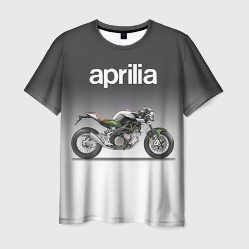 Мужская футболка 3D  Фото 01, Aprilia 750CR