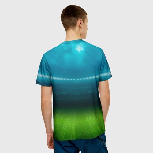 Мужская футболка 3D  Фото 02, FC Leicester