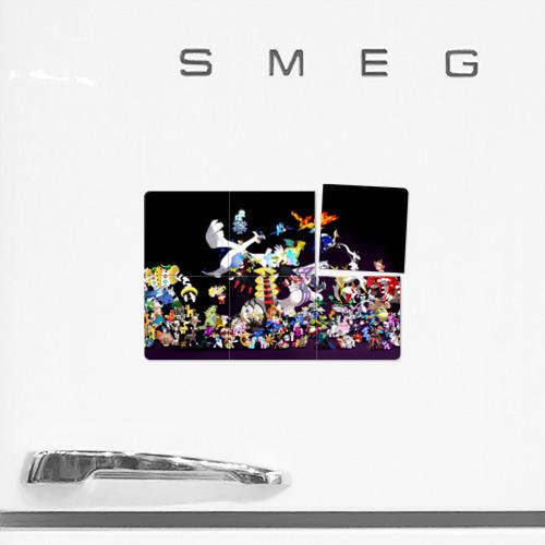 Магнитный плакат 3Х2  Фото 02, Покемоны