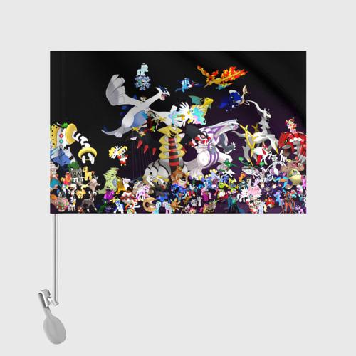 Флаг для автомобиля Покемоны Фото 01