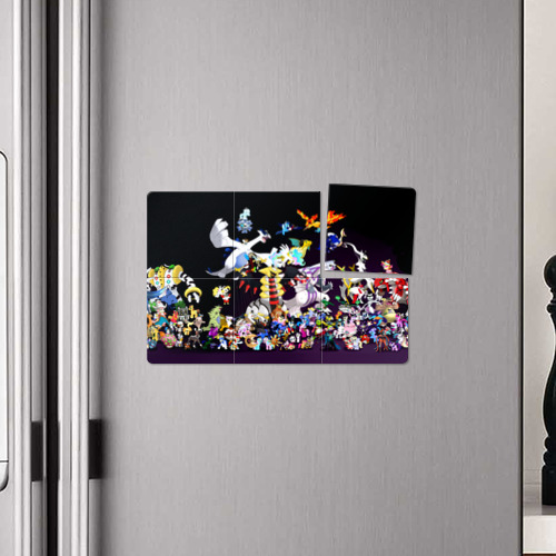 Магнитный плакат 3Х2  Фото 04, Покемоны