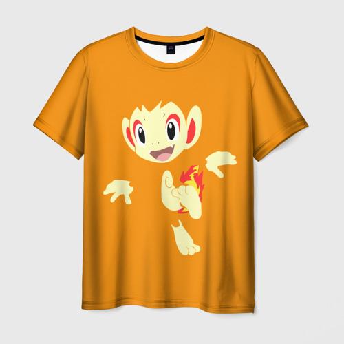 Мужская футболка 3D  Фото 01, Покемон