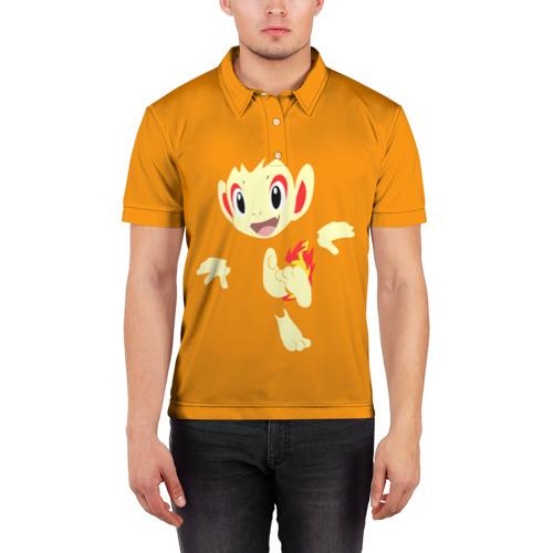 Мужская рубашка поло 3D  Фото 03, Покемон