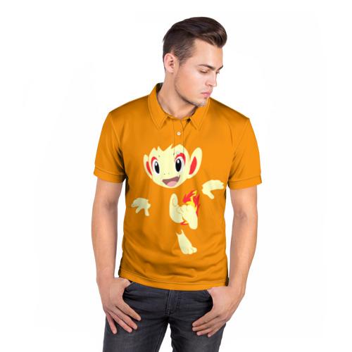 Мужская рубашка поло 3D  Фото 05, Покемон
