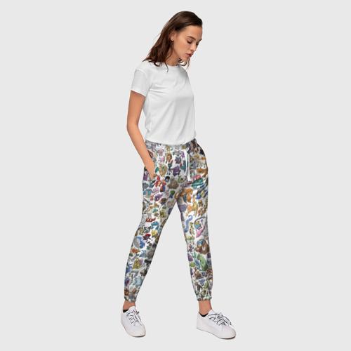 Женские брюки 3D  Фото 03, Покемоны