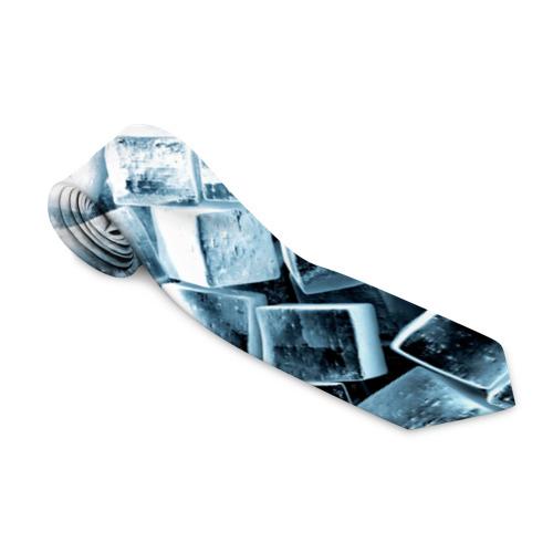 Галстук 3D  Фото 01, Кубики льда