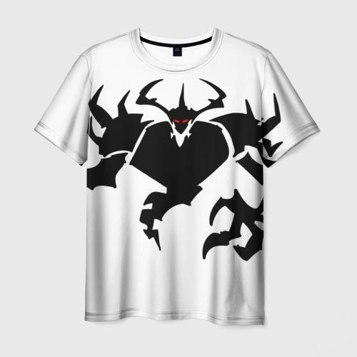 Мужская футболка 3D  Фото 01, Black And Red