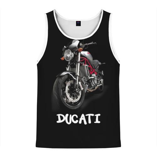 Мужская майка 3D  Фото 01, Ducati