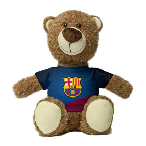 Миша в футболке 3D ФК Барселона